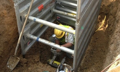 Keep Your Workers Safe with UltraShore Trench Boxes